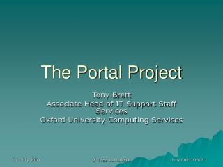 The Portal Project