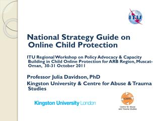 National Strategy Guide on Online Child Protection