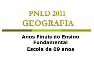 PNLD 2011 GEOGRAFIA