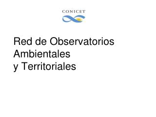 Red de Observatorios Ambientales y Territoriales