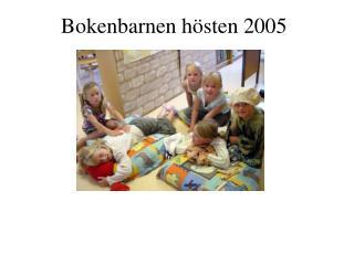 Bokenbarnen hösten 2005