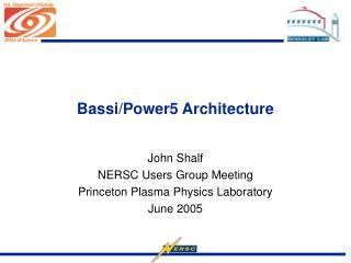 Bassi/Power5 Architecture