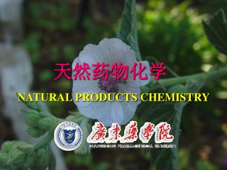 天然药物化学 NATURAL PRODUCTS CHEMISTRY