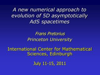 A new numerical approach to evolution of 5D asymptotically  AdS spacetimes