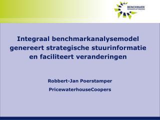 Robbert-Jan Poerstamper PricewaterhouseCoopers