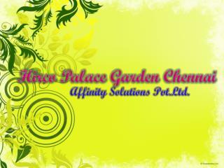 Hirco palace garden | 09999620966 | Hirco property chennai |
