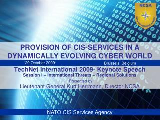TechNet International 2009- Keynote Speech Session I ...