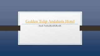 Golden Tulip Andalusia Hotel - Holdinn