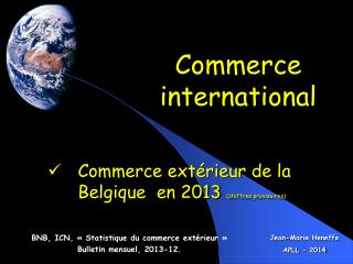 Ppt international e commerce powerpoint presentation for Commerce exterieur belgique
