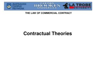 Contractual Theories