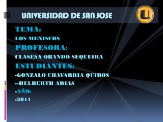 UNIVERSIDAD DE SAN JOSE