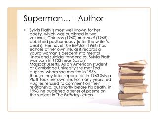Superman… - Author
