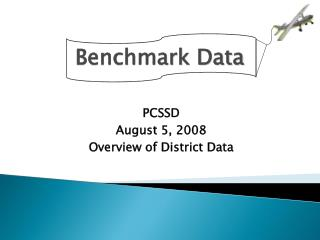 Benchmark Data