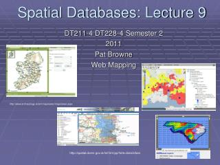 Spatial Databases: Lecture 9