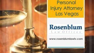Personal Injury Attorney Las Vegas
