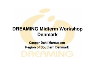 DREAMING Midterm Workshop Denmark