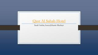 Qasr Al Sahab Hotel - Holdinn.com