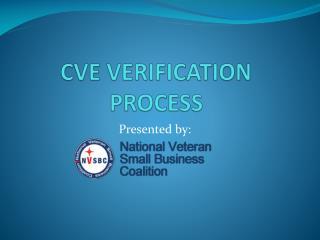 CVE  VERIFICATION PROCESS