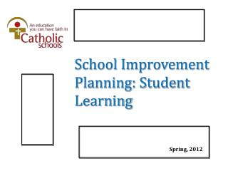 School Improvement Planning: Student Learning