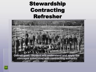 Stewardship  Contracting  Refresher