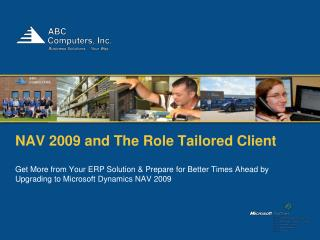 NAV 2009 and The Role Tailored Client