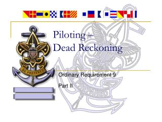 Piloting –  Dead Reckoning