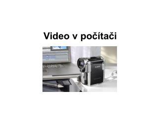 Video v počítači