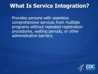 What Is Service Integration?
