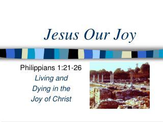 Jesus Our Joy