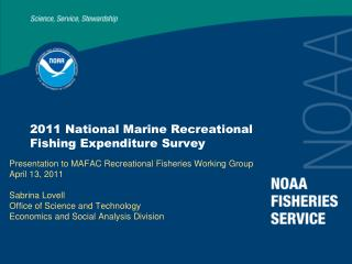 2011 National Marine Recreational Fishing Expenditure Survey