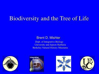 Biodiversity and the Tree of Life