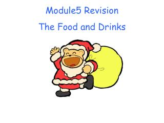 Module5 Revision The Food and Drinks