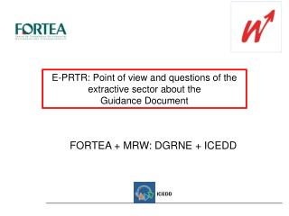 E-PRTR: Point of view and questions of the extractive sector about the  Guidance Document