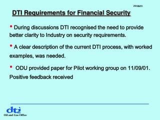 DTI Requirements for Financial Security