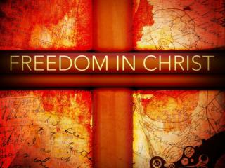 It is for freedom that Christ has set us free.   Galatians 5:1 NIV