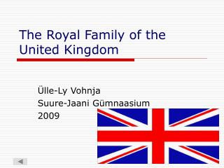 The Royal Family of the United Kingdom