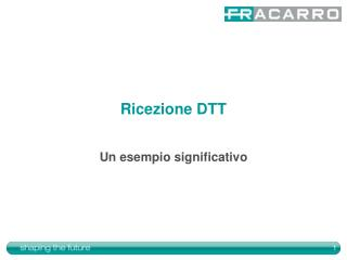 Ricezione DTT