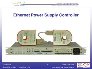 Ethernet Power Supply Controller