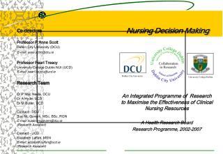 Nursing Decision Making