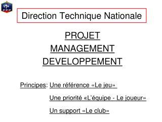 Direction Technique Nationale