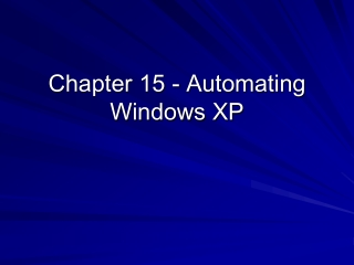 Automate Windows Administration