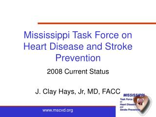 Mississippi Task Force on Heart Disease and Stroke Prevention
