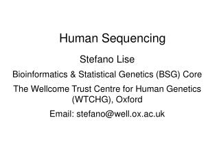 Human Sequencing