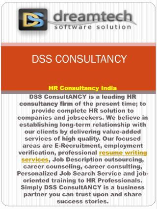DSS CONSULTANCY