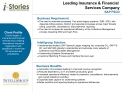 Leading Insurance  Financial  Services Company SAP FSCD