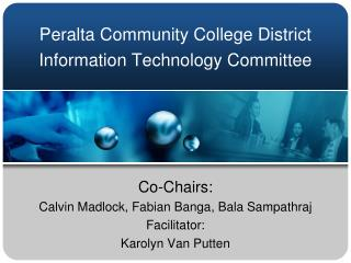 Peralta Community College District Information Technology Committee
