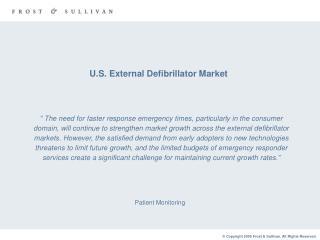 U.S. External Defibrillator Market