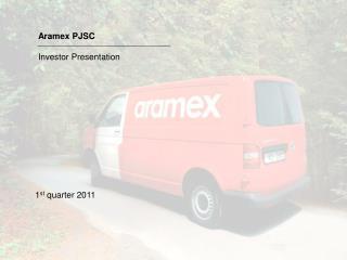 Aramex PJSC Investor Presentation