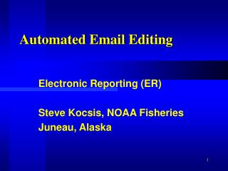 Automated Email Editing
