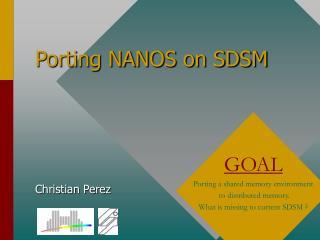 Porting NANOS on SDSM